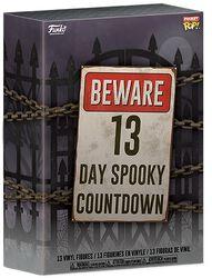 Beware 13 Day Spooky Countdown Halloween Calendar 2020