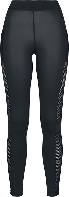 Ladies Mesh Side Stripe Leggings leggingsit