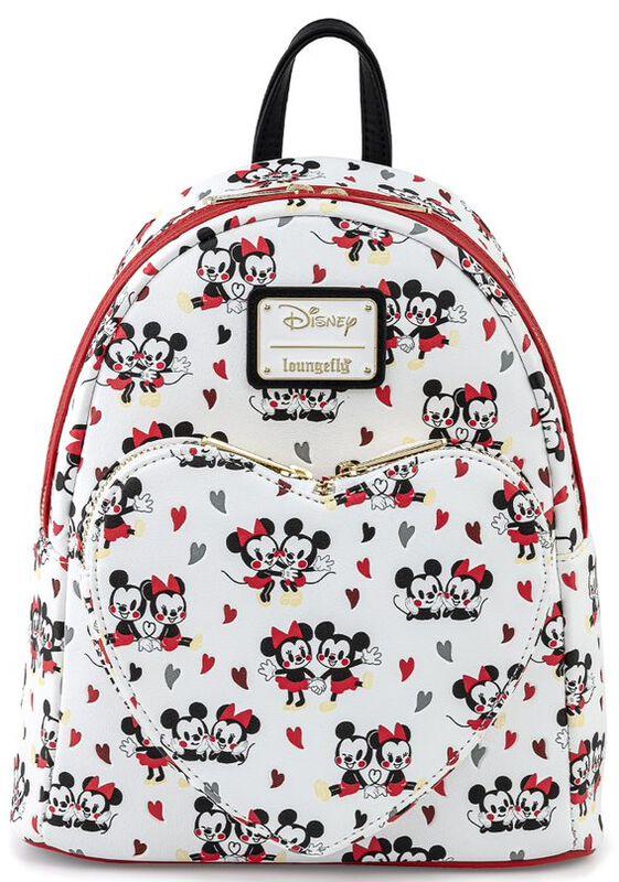 Loungefly - Mickey and Minnie Heart