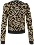 Change My Spots Cropped Leopard Cardigan