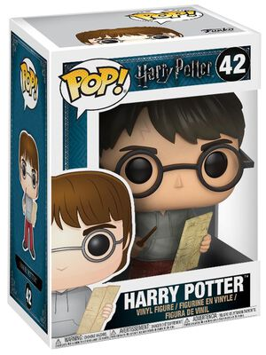 Harry Potter with Marauders Map Vinyl Figure 42 (figuuri)