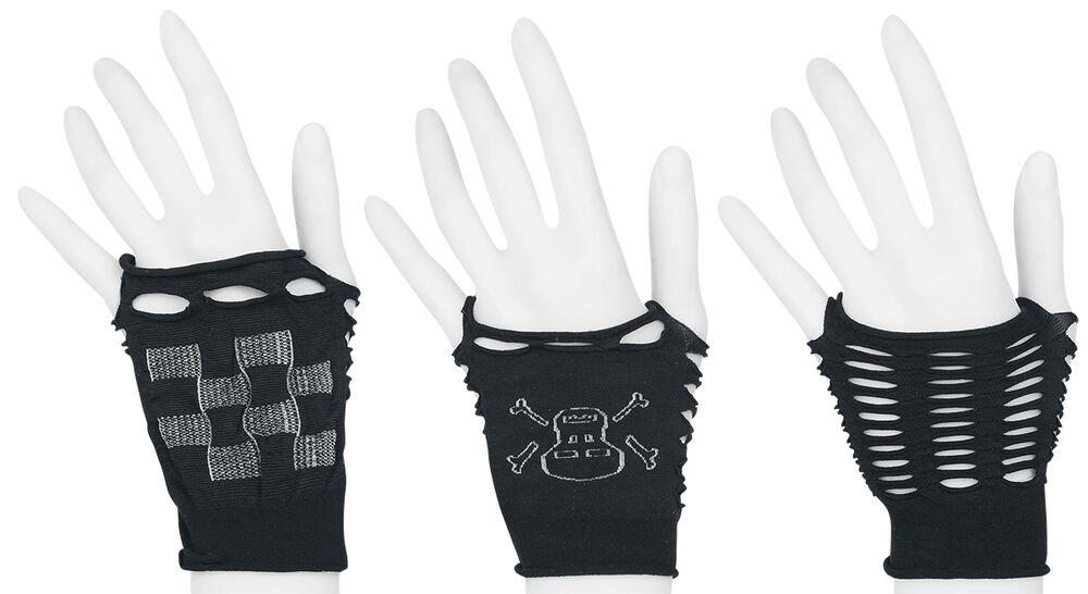 Sormettomat hansikkaat (3 parin setti)