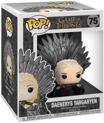 Daenerys Targaryen Iron Throne (POP Deluxe) Vinyl Figure 75 (figuuri)