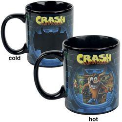 Crash - lämpöön reagoiva muki