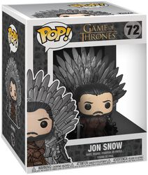 Jon Snow Iron Throne (POP Deluxe) Vinyl Figure 72 (figuuri)