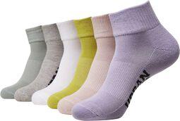 High Sneaker Socks sukat - 6 kpl setti