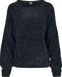 Ladies Oversize Chenille Sweater svetari