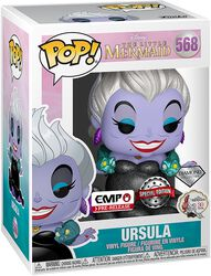 Disney Villains - Ursula (Diamond Glitter Edition) Vinyl Figure 568 (figuuri)