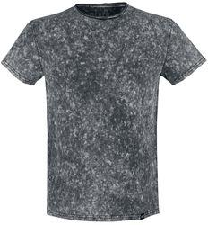 Musta T-paita erikoispesulla