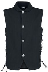 Medieval Waistcoat With Lacing