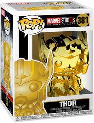 Marvel Studios 10 - Thor (Chrome) Vinyl Figure 381 (figuuri)