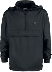Band Collar Pull Over Windbreaker