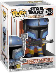 The Mandalorian - Heavy Infantry Mandalorian Vinyl Figure 348 (figuuri)