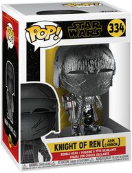 Episode 9 - The Rise of Skywalker - Knight of Ren (Arm Cannon) (Chrome) Vinyl Figure 334 (figuuri)