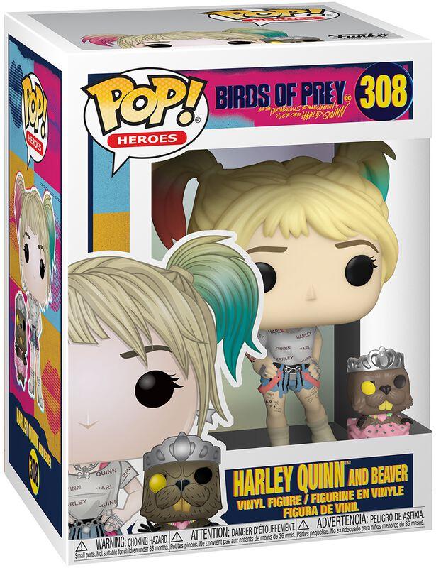 Harley Quinn and Beaver Vinyl Figure 308 (figuuri)