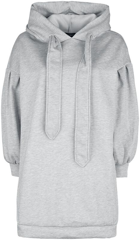 Cropped Sleeve Hooded Sweater