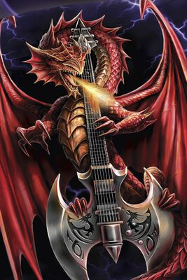 Dragon and Guitar