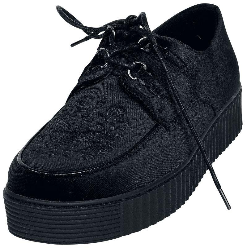 Mustat creepers-kengät