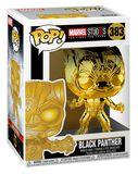 Marvel Studios 10 - Black Panther (Chrome) Vinyl Figure 383 (figuuri)