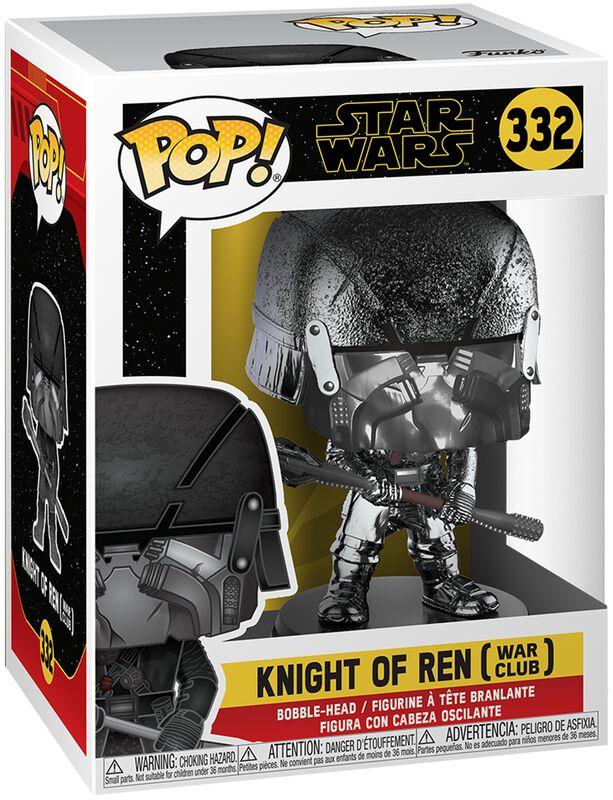 Episode 9 - The Rise of Skywalker - Knight of Ren (War Club) (Chrome) Vinyl Figure 332 (figuuri)