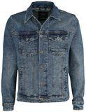 Deep Blue Slim Fit Denim Jacket