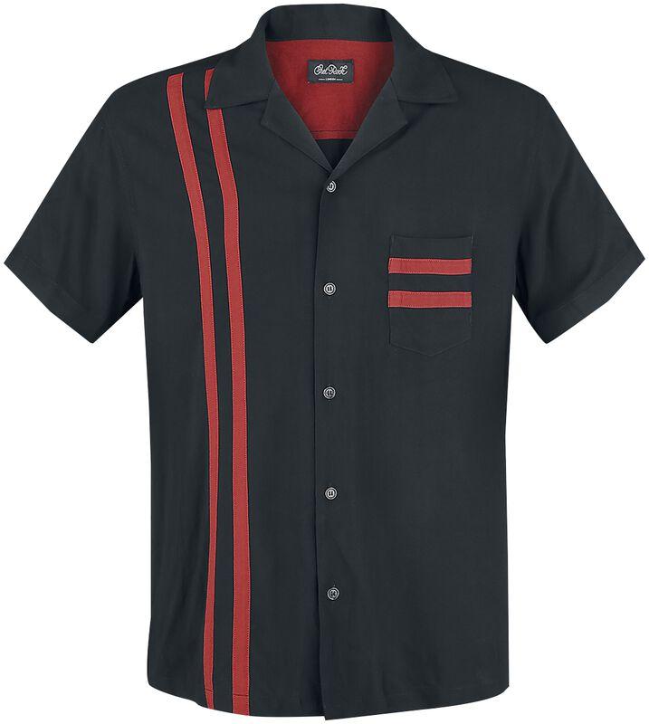 Lucky Stripe Bowling Shirt