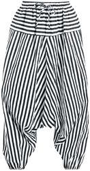 Raidalliset haaremihousut