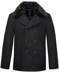 Pea Coat Fur Collar kipparitakki