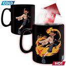 Luffy & Ace - lämpöön reagoiva muki