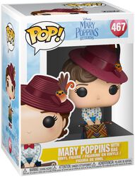 Mary Poppins with Bag Vinyl Figure 467 (figuuri)