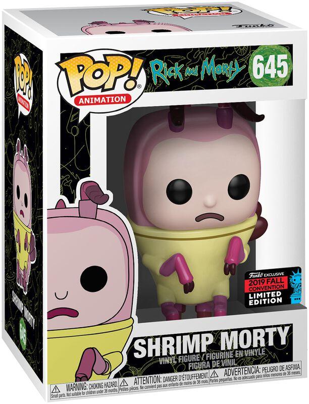 NYCC 2019 - Shrimp Morty Vinyl Figure 645 (figuuri)
