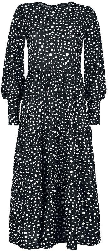 Long-Sleeve Smock Dress