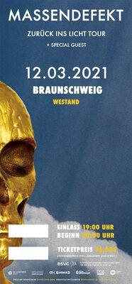 Zurück ins Licht - Braunschweig - 12.03.2021 - Westand