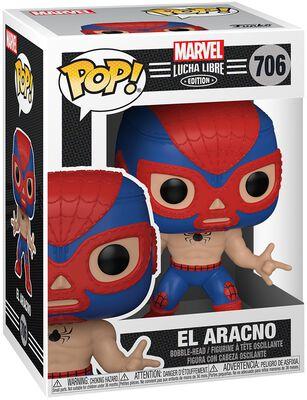El Aracno - Marvel Luchadores - Vinyl Figur 706