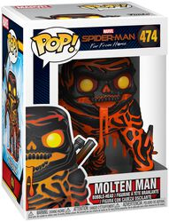 Far From Home - Molten Man Vinyl Figure 474 (figuuri)