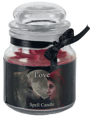 Love Spell Candle - Ruusu