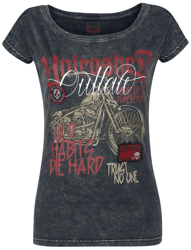 T-paita prätkäpainatuksella